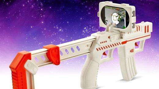 Gadget - Aliens jagen per iPhone und appBlaster Gun