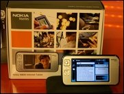 Gadget-Time: Nokia N93i und N800