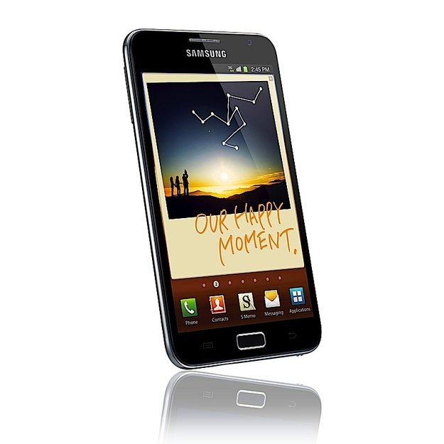 Galaxy Note 1: Android 4.1.2 mit Premium-Suite