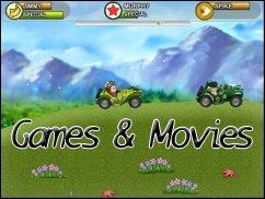 Games &amp&#x3B; Movies aus dem Dschungel in den Dschungel