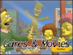 Games &amp&#x3B; Movies - direkt aus Springfield