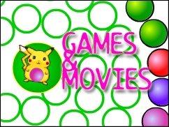 Games'n' Movies mit Pikachu, Schiggy, Flurmel &amp&#x3B; Co.