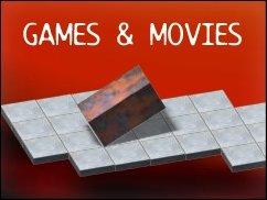 Games'n' Movies voller Quadrate und Formeln