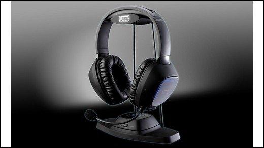 Gamescom 2011 - Creative präsentiert Soundblaster Tactic 3D Omega Wireless
