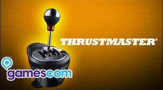Gamescom 2011  - Thrustmaster zeigt edle und realistische Racer-Gangschaltung
