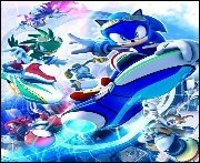 Geschwindigkeitsrausch mit Sonic Riders: Zero Gravity!
