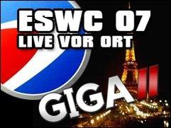 GIGA 2 berichtet live vom ESWC