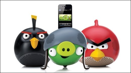 GIGA Adventskalender - 9. Dezember - Drei offizielle Angry Birds Lautsprecher von GEAR4