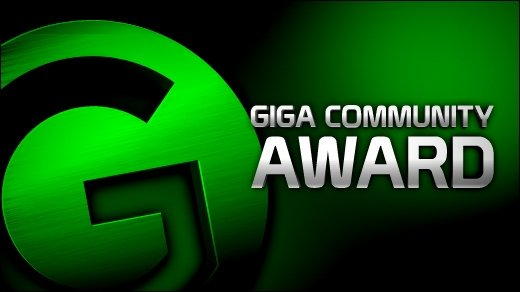GIGA Community Award 2011 - Ihr habt gewählt! Die Gewinner der fünf Kategorien