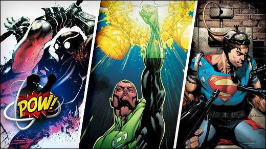 GIGA POW! #2 - Comic-Special &amp&#x3B; Video zu DC's The New 52