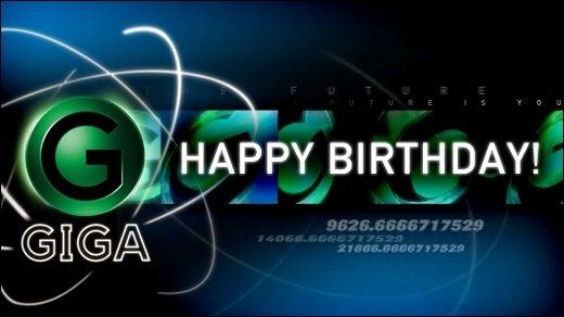 GIGA wird 13 - Wir wollen eure Glückwünsche