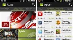 Google  - Android Market erhält Facelift
