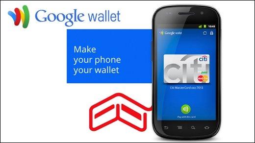 Google - Bargeldloses Bezahlen mit Google Wallet