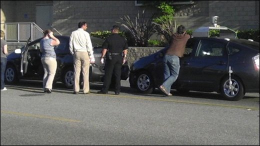 Google - Erster Crash der selbstfahrenden Autos?
