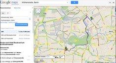 Google Maps - Nun mit Staumeldungen