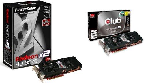 Grafikkarten - Zwei Radeon HD 6870 X2 vorgestellt