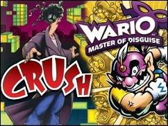 Handheld-Monday: Crush und Wario Master of Disguise