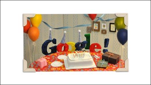 Happy Birthday - Google wird 13!