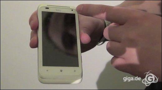 HTC - Hands-On mit dem HTC Radar