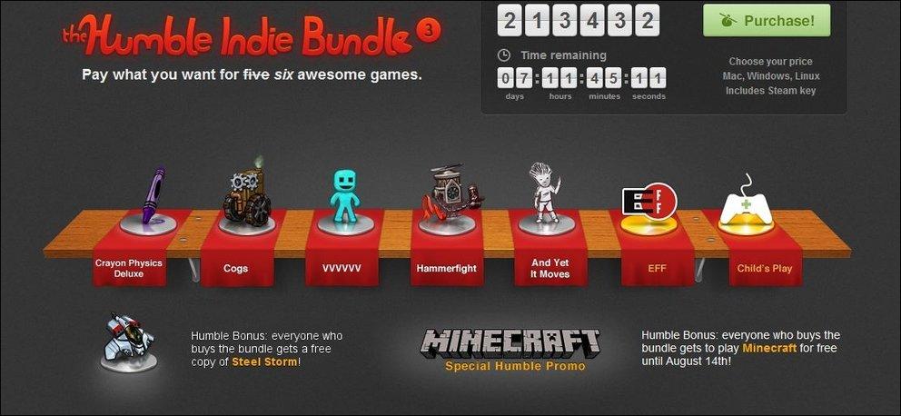 Humbe Indie Bundle #3 - Steel Storm kommt als Bonus-Spiel