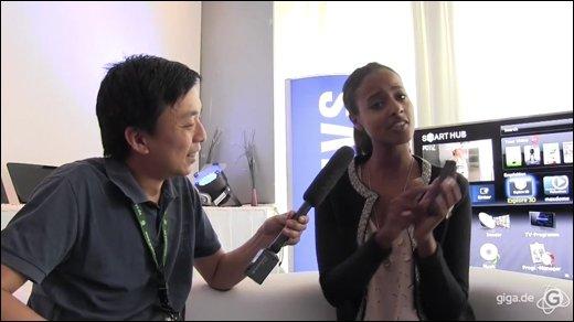 IFA 2011 - GIGA trifft das Topmodel Sara Nuru