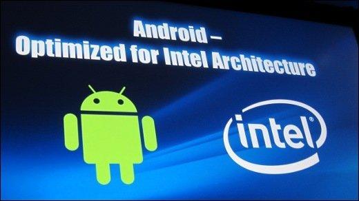Intel IDF - Android wird x86-fähig