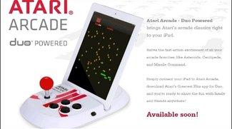 iPad Joystick - Atari Arcade-Station im Retro Look