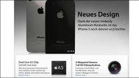 iPhone 5 - Apple zeigt das neue iPhone schon auf der Webseite - Oder doch nicht?