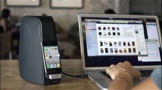 iPhone Zubehör - Unboxing- und Hands-On-Video zum Audyssey Audio Dock