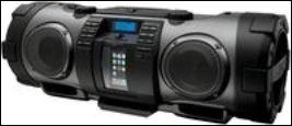 JVC - BoomBlaster RV-NB70: Ghettoblaster trifft auf iPhone 4