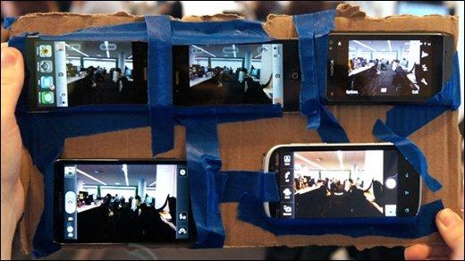 Kameravergleich - Bitte lächeln: iPhone 4S vs. iPhone 4 vs. Galaxy S II vs. Nokia N8 vs. Amaze 4G