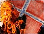 Karikaturstreit eskaliert! Dänische Fahnen brennen