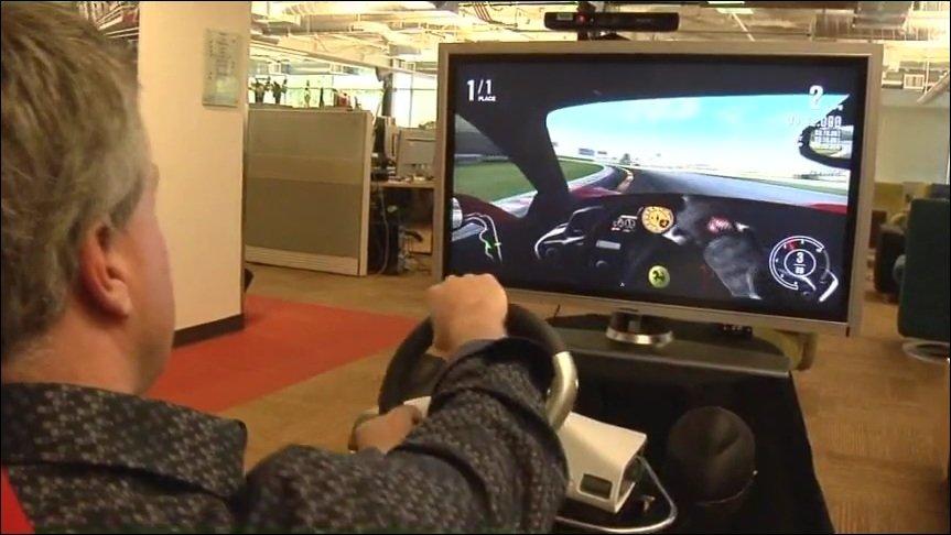 Kinect - Forza Entwickler verteidigt die Bewegungssteuerung