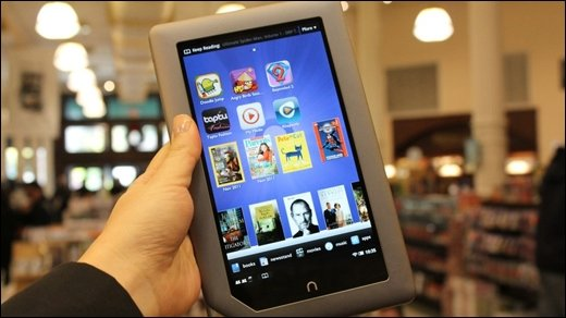 Konkurrenz für Kindle Fire &amp&#x3B; Touch - Neues Android-Tablet: Barnes &amp&#x3B; Noble Nook Tablet