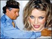 Kylie Minogue durch Handauflegen gesund?!