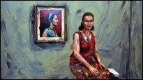 Lebende Gemälde - Diese Menschen sind bemalt, nicht gemalt