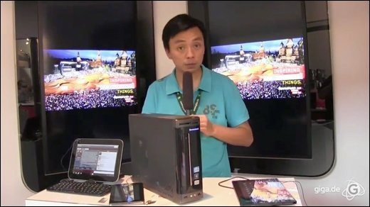 Lenovo - Rundumschlag am Lenovo-Stand: Tablets, Tablets, Tablets!