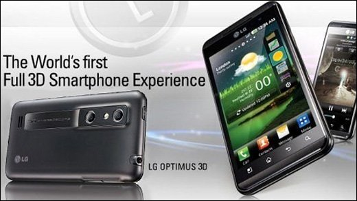 LG Optimus 3D - Unboxing-Video zum 3D-Superphone von LG