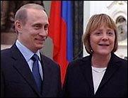 Liebesgrüße aus Moskau: Angela zu Besuch bei Wladimir