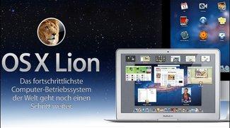 Mac OS X Lion - Der Löwe soll am Mittwoch brüllen