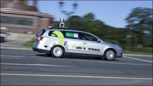 MadeInGermany - AutoNOMOS Labs lässt Roboter-Auto durch Berlin fahren