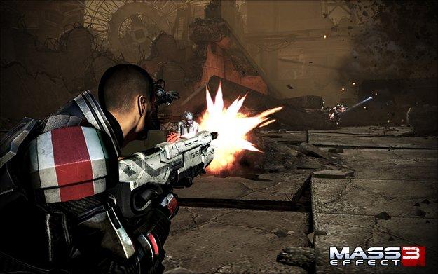 Mass Effect 3: Erstes Gameplay-Material vom Mars