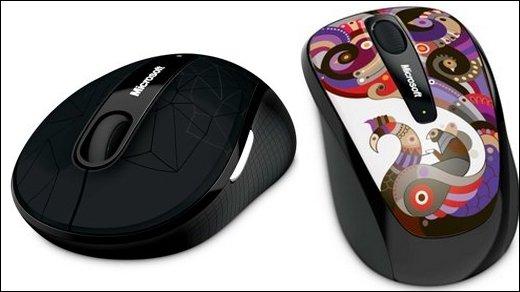 Microsoft Mobile Mouse - Special Editions für die Mobilmäuse 3500 und 4000