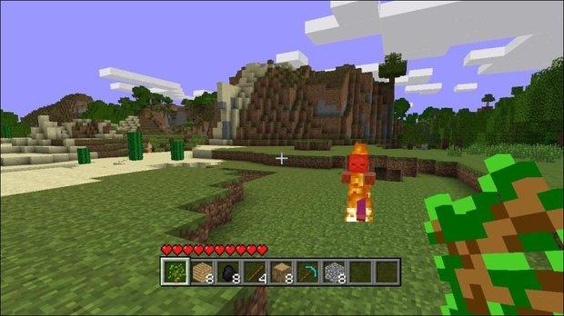 Minecraft - Erster Einblick in die Xbox 360 Version
