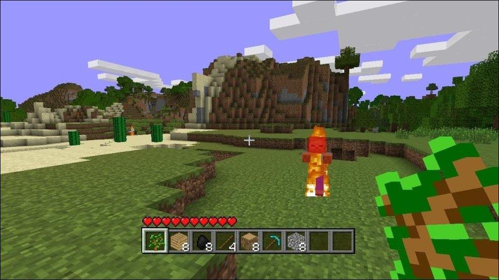Minecraft Das Erste XBLA Spiel Mit Ständigen Updates GIGA - Minecraft waffen spiele