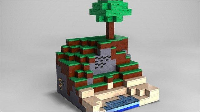 Minecraft - Offizielles LEGO Minecraft in der Mache