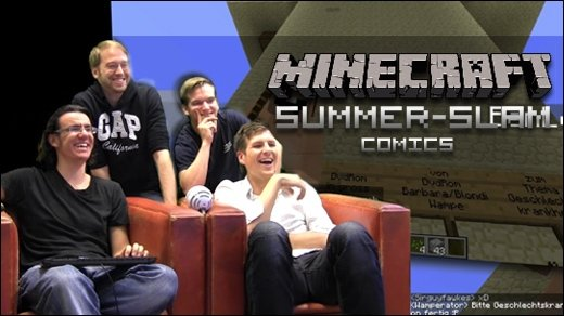Minecraft Summer Slam - Comics - Batman, The Flash, Avatar &amp&#x3B; nackte Giganten