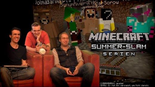 Minecraft Summer Slam - Serien - Teil 1-4: A-Team, X-Files, Scooby-Doo und mehr!