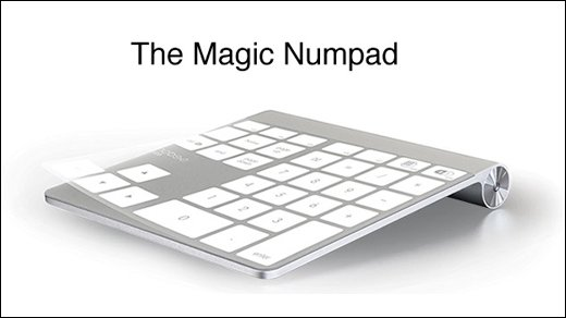 Mobee Magic Numpad - Apples Magic Trackpad wird zum Numpad