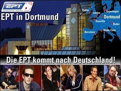 Monatspreis - 3 x EPT Dortmund Paket zu gewinnen